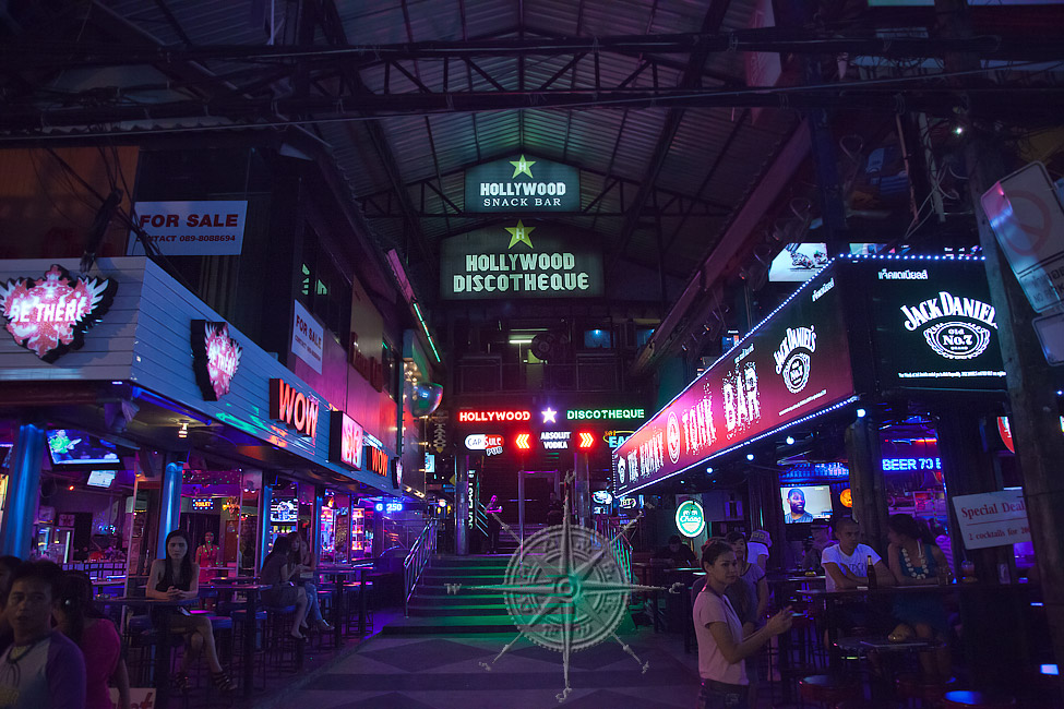 Бангла Роуд. Патонг. Пхукет (Bangla Road. Patong. Phuket)